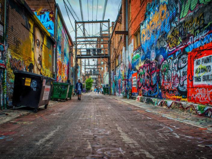 Graffiti Alley, Rapid City South Dakota