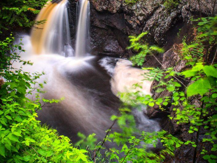 Cascade River Falls, Grand Marais, Minnesota