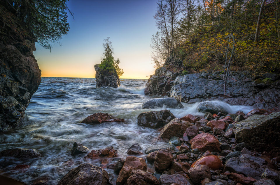 The Bay, Tettegouche State Park, Minnesota