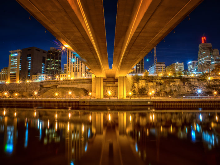 Wabasha Bridge, Downtown Saint Paul, Minnesota