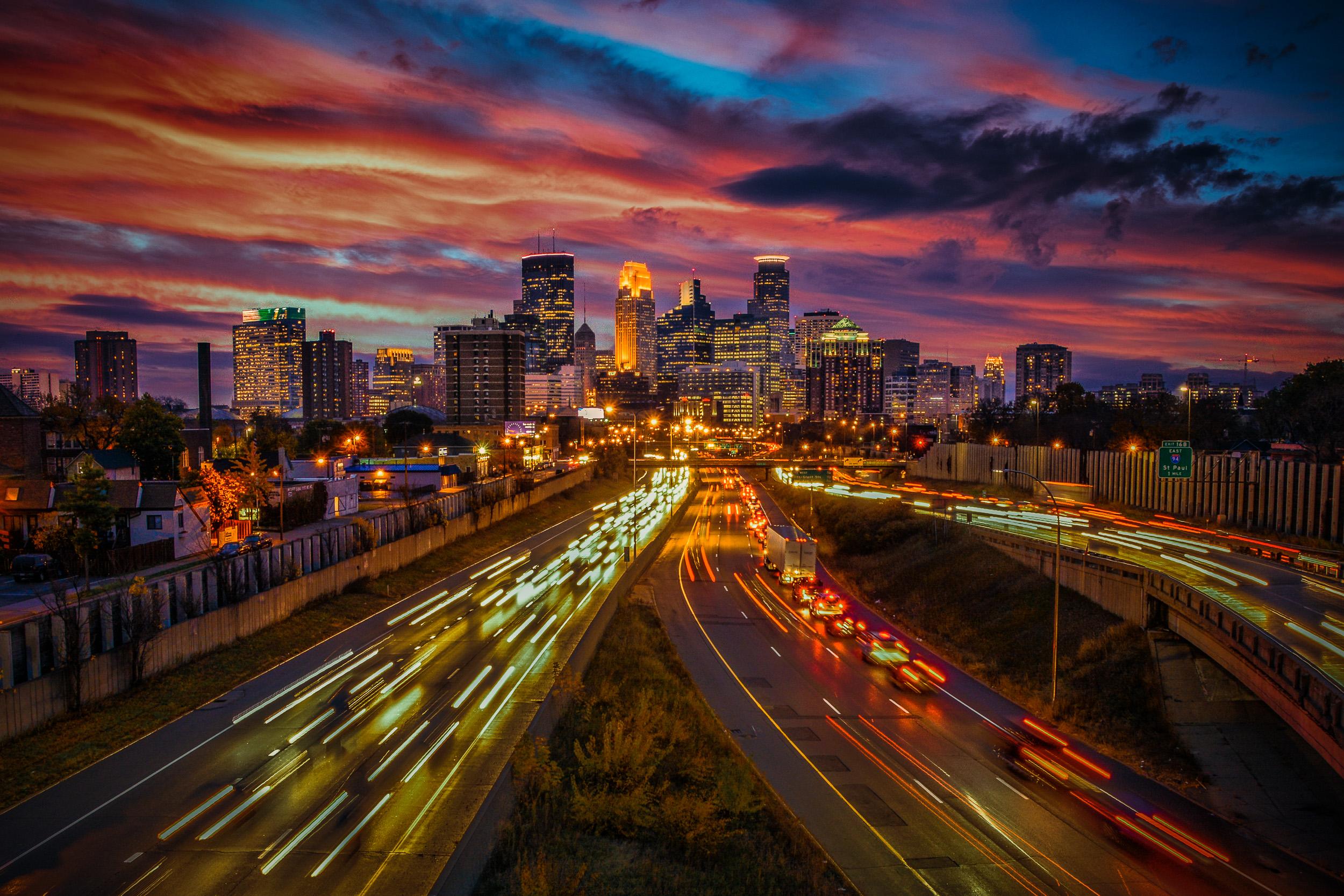Minneapolis Sunset
