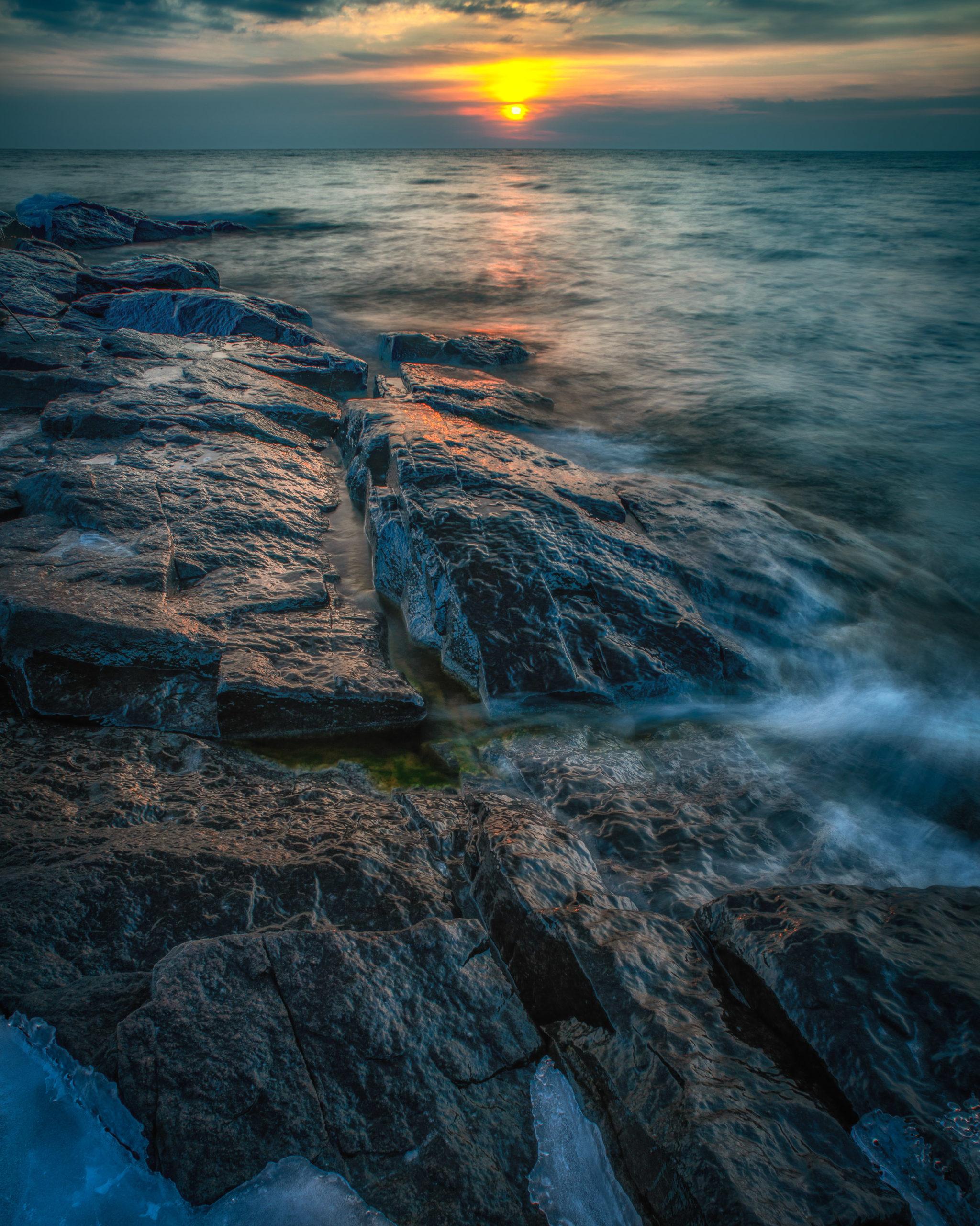 Sunrise at Cove Point