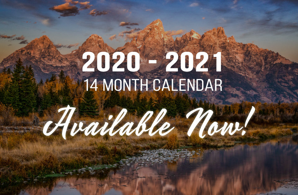 My 2021 Calendar is Available Now!